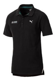 Polo Puma Mercedes Benz Negro 576750-01 Look Trendy