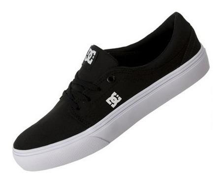 Tênis Dc Shoes Trase Tx Black / White / White