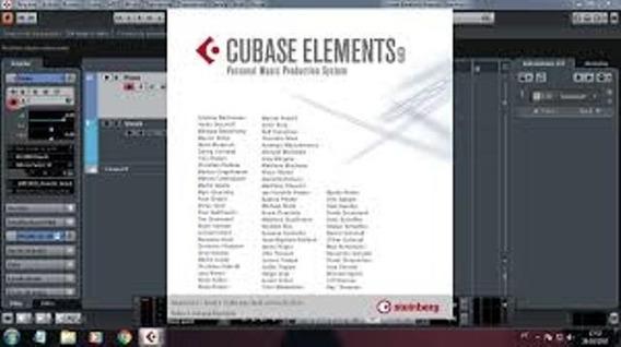 Cubase Elements 9 Full +curso. P Windows 64 Bits