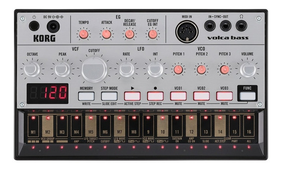 Korg Volca Bass Analogue Bass Machine Mercado Full