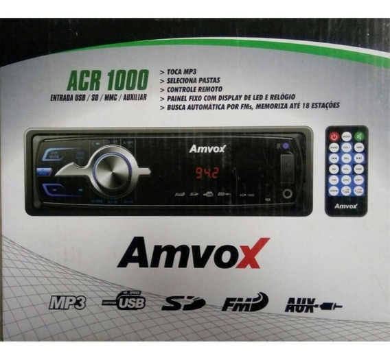Auto Radio Amvox Acr1000
