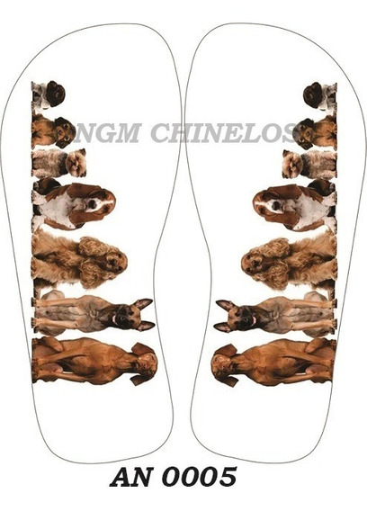 Chinelo Animais An0005