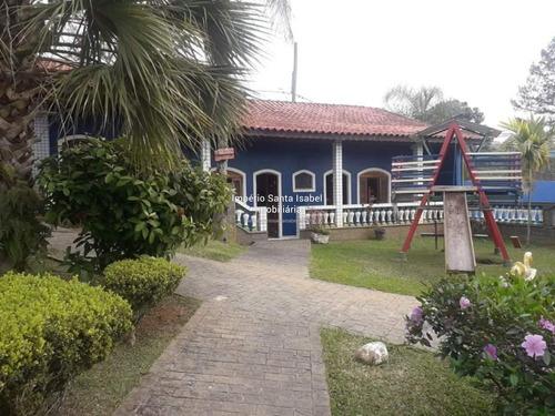 Imagem 1 de 14 de Vende-se Linda Chácara Bairro Ouro Fino- Santa Isabel- Sp989