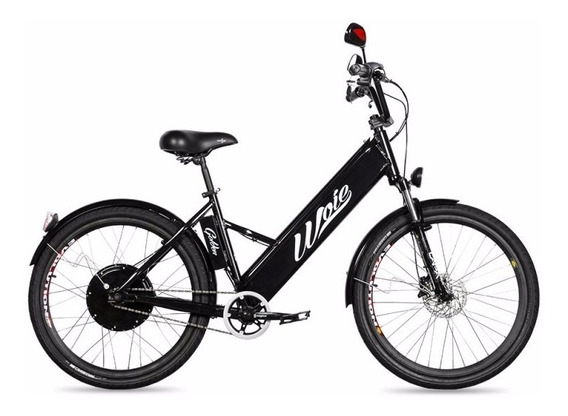 Bicicleta Elétrica Motorizada Woie Golden 48v 350w - Preto