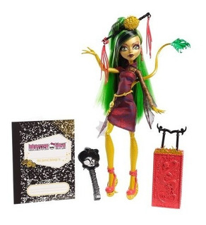 Monster High Viajes Scaris Jinafire Long Doll