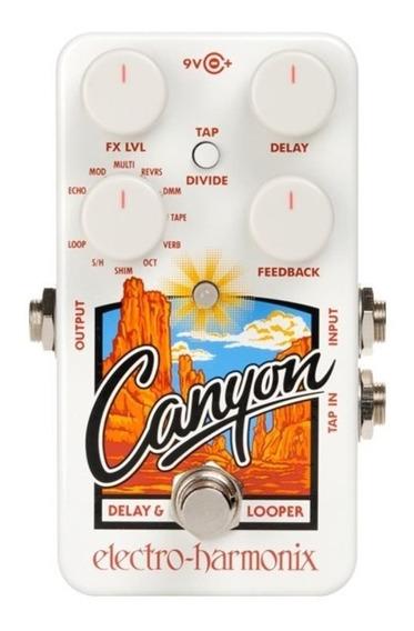 Pedal Electro-harmonix Canyon Delay & Looper P/guitarra Nfe