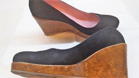 Zapatos Sibyl Vane Gamuza Negra - Número 39