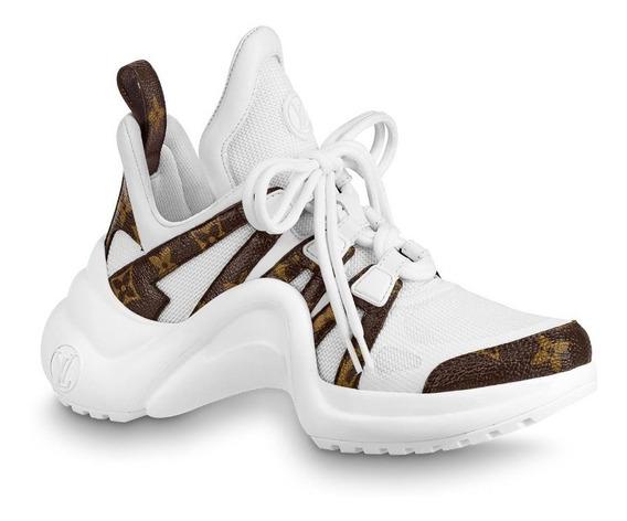 Zapatillas Sneakers Louis Vuitton Archlight Mujer