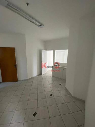 Sala Para Alugar, 56 M² Por R$ 2.600,00/mês - Gonzaga - Santos/sp - Sa0230