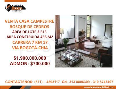 **venta Casa Campestre 456 M2 Chia