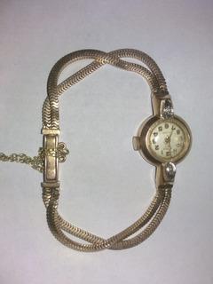 Reloj Oro 18k 0.750gr C/piedra Colección - Oferta Seria