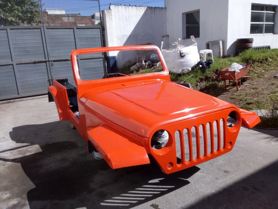 Jeep Ika Estanciera Solo Carroceria Wrangler