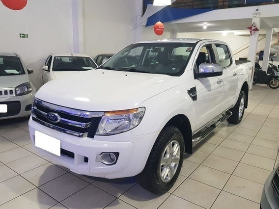 Ford Ranger 3.2 Xlt Branca Cd 4x4 Turbo Diesel 4p Aut. 2013