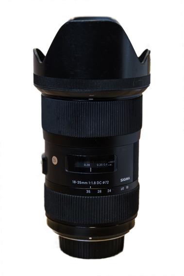 Sigma Art 18-35 Mm 1.8 Para Nikon
