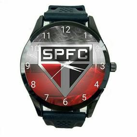 Relógio São Paulo Unissex Futebol Esporte Tricolor Novo T188