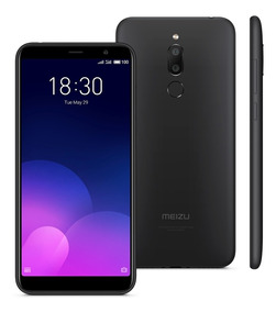 Smartphone Meizu M6t Preto, Tela 5,7, 3gb+32gb, Câmara Dupla