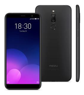 Smartphone Meizu M6t Preto, 3gb+32gb, Grátis Fone Ouvido