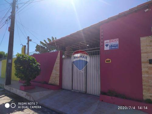 Excelente Casa Com 4 Dormitórios E Piscina À Venda - 250m² - Nova Esperança - Parnamirim/rn - Ca0144