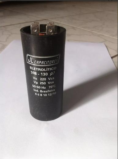 Capacitor Eletrolítico 108-130uf 250v
