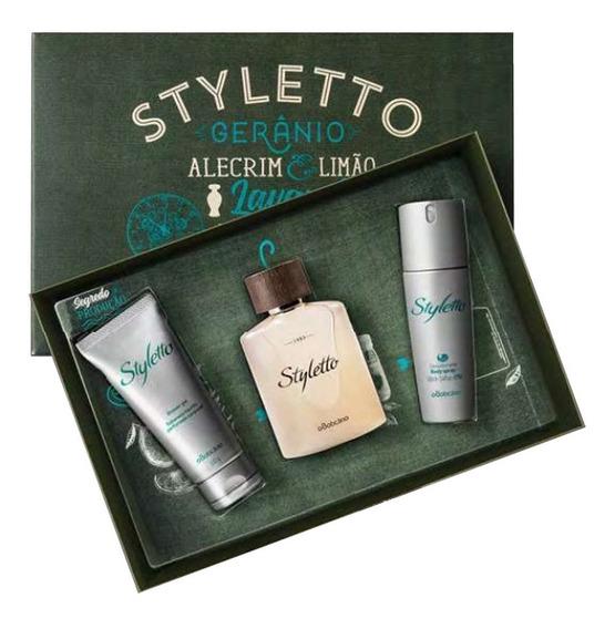 Kit Styletto Boticário - Edição Especial
