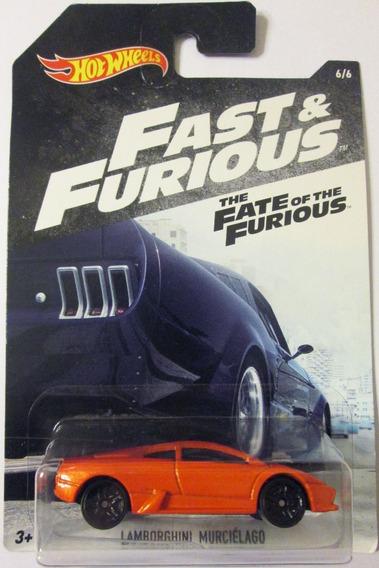 Hot Wheels Rápido Y Furioso Lamborghini Murciélago E/1:64