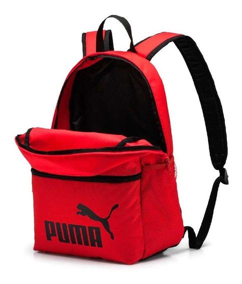 Puma Mochila Plus Rojo