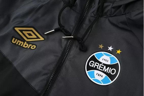 Jaqueta Corta Vento Umbro Grêmio Masculina Impermeável