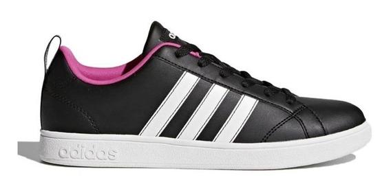 Tênis adidas Vs Advantage Feminino Preto E Pink-original