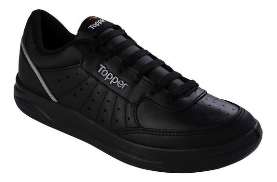 Zapatilla Topper X Forcer Negra - Wales Deportes