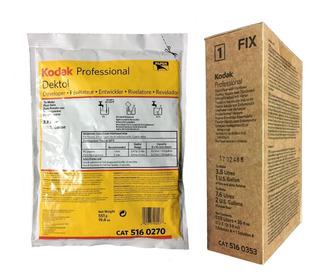 Revelador Dektol Y Fijador Kodak Rapid Fix P/ Papel O Peli..