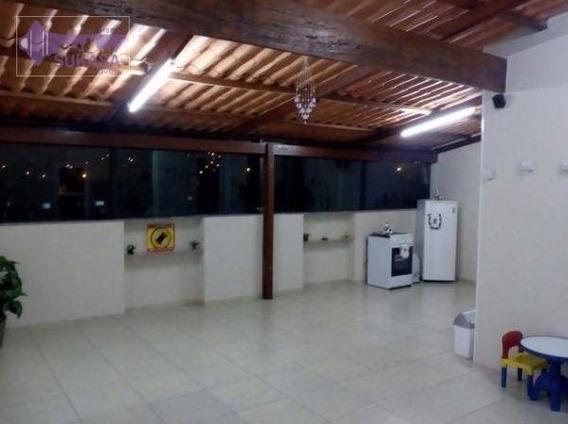 Cobertura Residencial À Venda, Vila Eldízia, Santo André. - Co0223