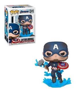 Funko Pop - Spiderman - Capitan America - Thor - Endgame