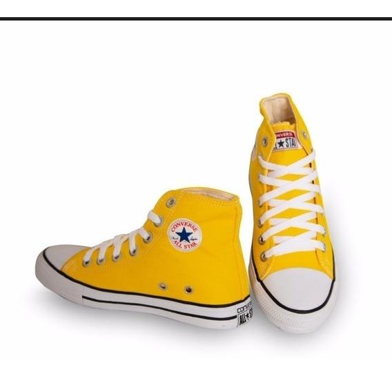 Tênis Converse All Star Bota Branca Descontos !!!