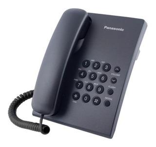 Telefono Panasonic Casa Oficina Kx-ts500mx Negro Y Blanco