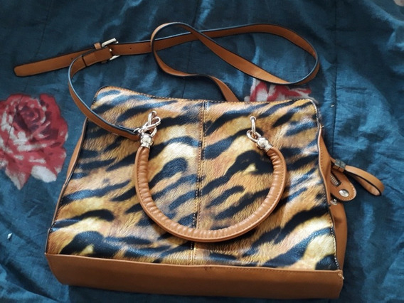 Cartera Bandolera Animal Print Xl