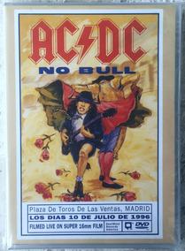 Dvd Ac/dc No Bull Live In Madrid Frete Grátis