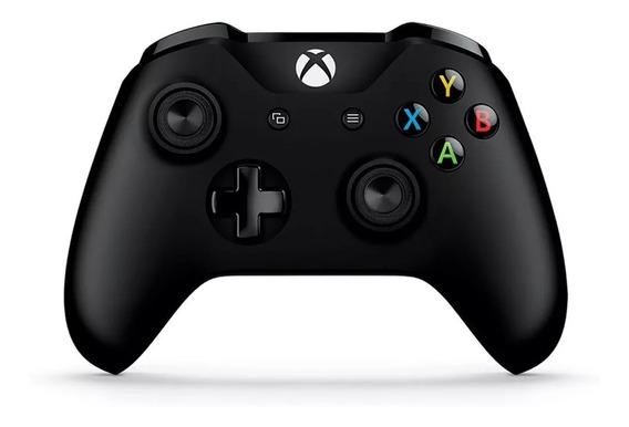 Control Xbox One Inalambrico Microsoft Negro Con Cable Pc
