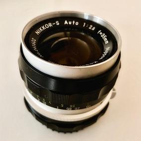 Lente Nikon 35 Mm 35mm 2.8 Japan Mecânica - 12xs/juros