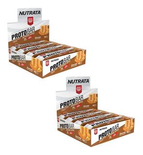 Kit 2 Caixas Protobar Nutrata Proto Bar Nutrat 16unid Barato