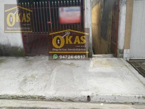Imagem 1 de 19 de Casa Com 2 Dormitórios À Venda Por R$ 150.000,00 - Jardim Nova América - Suzano/sp - Ca0386