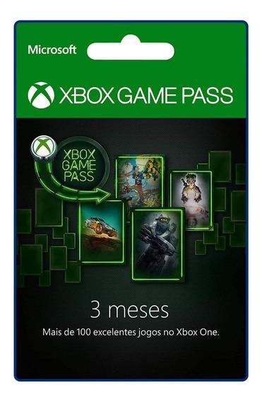 Xbox Game Pass Assinatura 3 Meses Revenda Autorizada