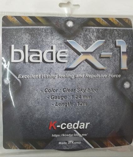 Encordado Individua K-cedar Blade X-1 Set 12m
