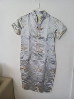 Vestido Chino Para Niña