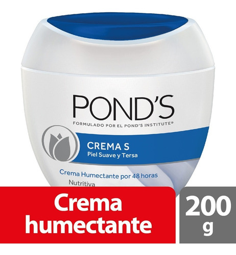 Crema Humectante Facial Ponds S X 200g