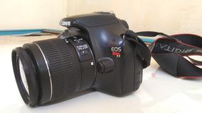 Câmera Fotográfica Profissional Eos Rebel T3