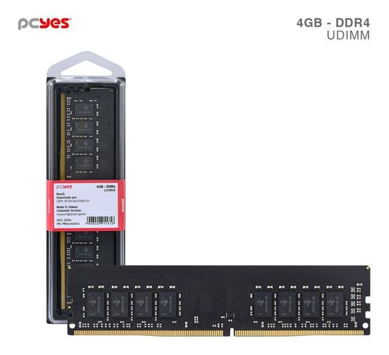 Memoria Pcyes Udimm 4gb Ddr4 2400mhz - Pm042400d4