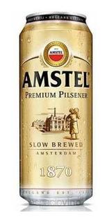 Lata Amstel 473cc! En Villa Urquiza