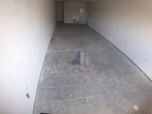 Sala Para Alugar, 100 M² Por R$ 730,00/mês - Parque Das Américas - Mauá/sp - Sa0158