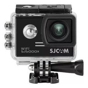 Câmera Sj5000x 4k Elite Sjcam+microfone + Sd 32 Gb S/juro