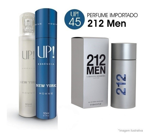 Perfume Up New York Referencia Olfativa 212 Man